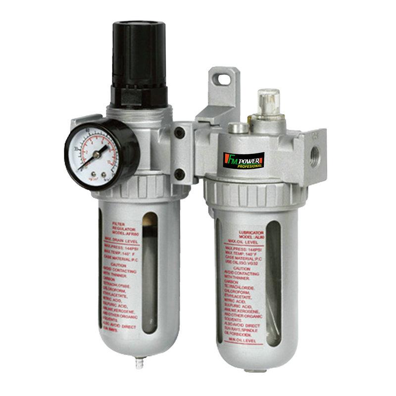 Desviador de gás + separador óleo-água t filtro t válvula reguladora de pressão-AFC9210comAFC9212
