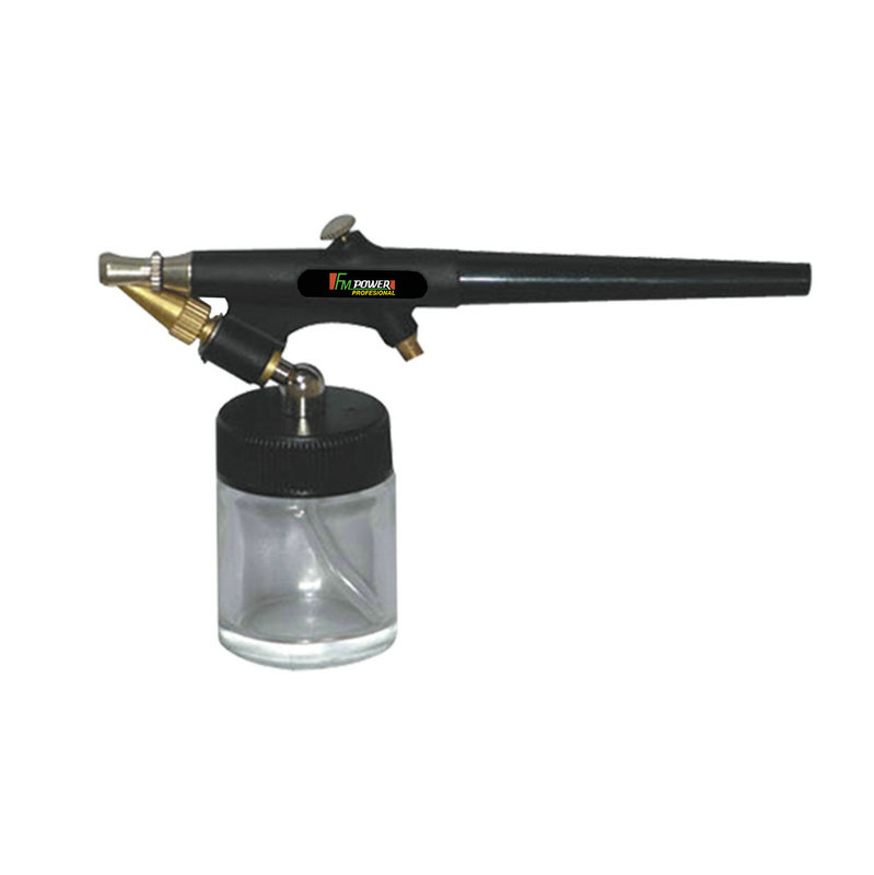 Mini compressor de ar + aerógrafo pneumático e acessórios-AK2002