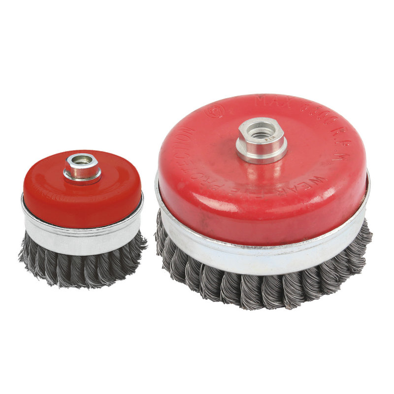 Escova de aço-escova de arame em forma de copo-CB6100&CB6125
