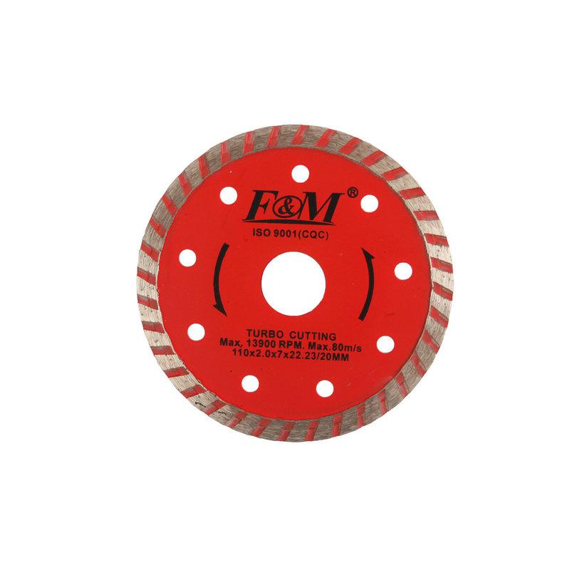 Lâmina de serra-lâmina de corte ondulada de diamante (tipo úmido e seco)-DC1631
