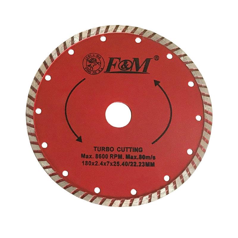 Lâmina de serra-lâmina de corte ondulada de diamante (tipo úmido e seco)-DC1632