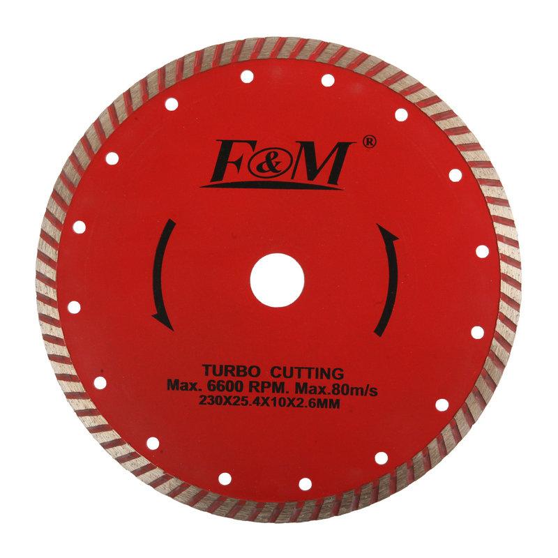 Lâmina de serra-lâmina de corte ondulada de diamante (tipo úmido e seco)-DC1633