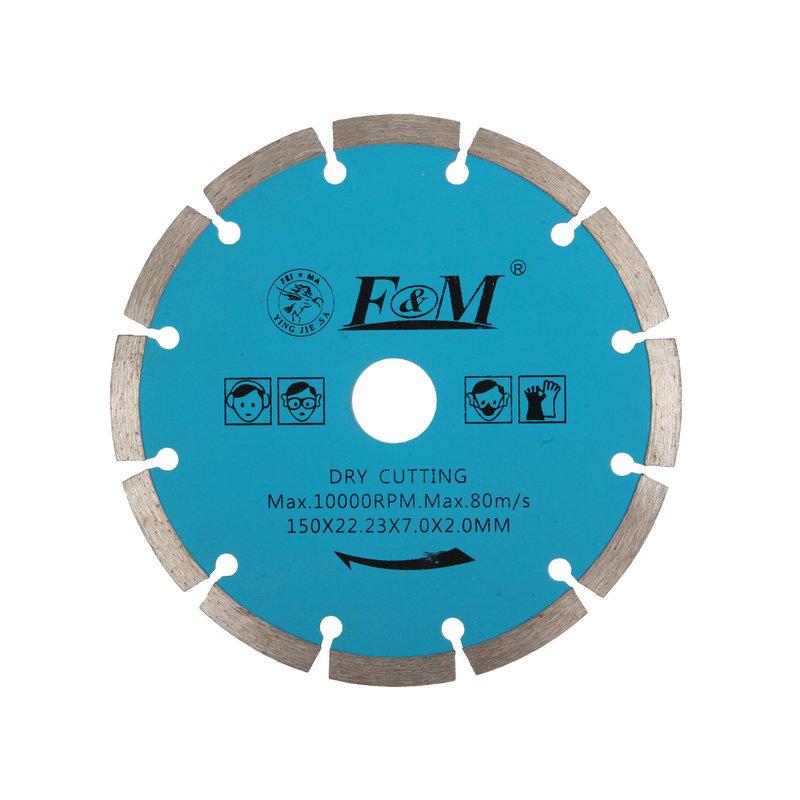 Lâmina de serra-disco de corte de diamante (tipo seco)-DC1643