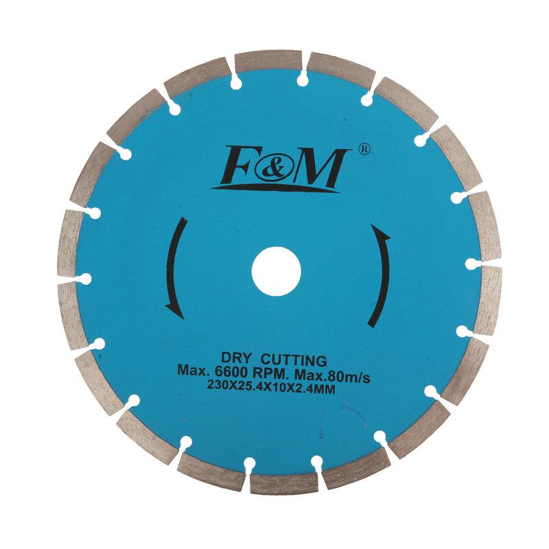 Lâmina de serra-disco de corte de diamante (tipo seco)-DC1645