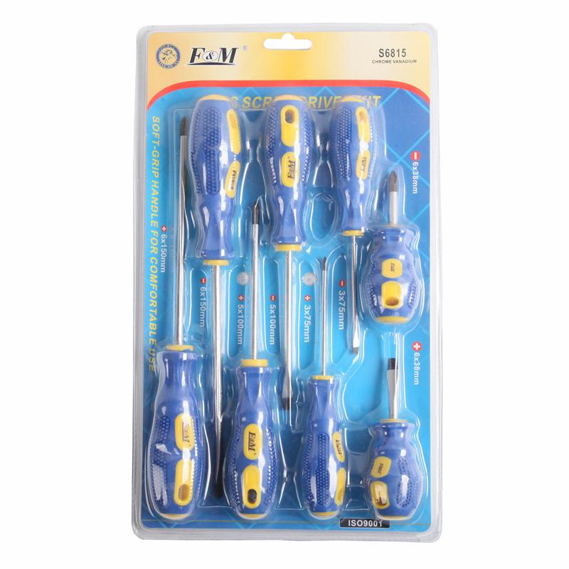 Chave de fenda e bit-chave de fenda (8PCS)-S6815