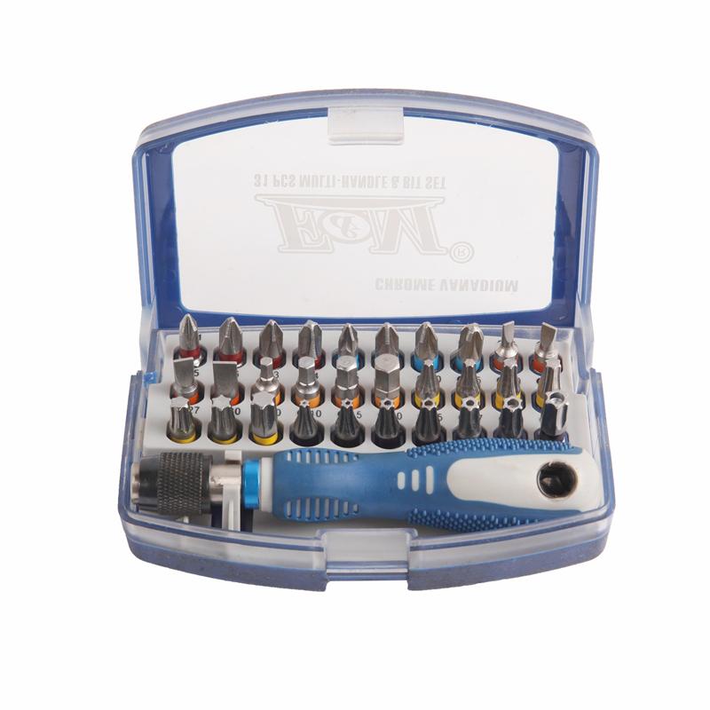 Chave de fenda e bit-31PCS quick connect chave de fenda-S6820